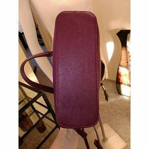 Liz Claiborne Bags - Liz Claiborne burgundy mini satchel handbag NWOT